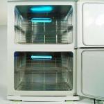 Quality Hot Towel Cabinet UV Sterilizer Warmer for Beauty Salon Spa 23L * 2 for sale
