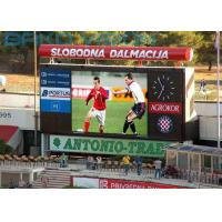 Quality High Brightness Stadium Perimeter LED Display With 160 Degree Viewing Angle for sale