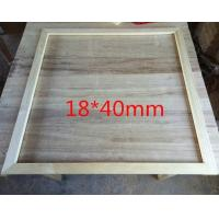 China High Quality Pine wood Picture Frame For DIY Picture And Canvas Panel Framing on sale