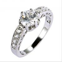 Quality 2014 new women rings wedding gold plated  TJ0016 for sale
