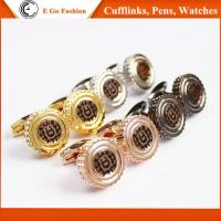 Quality Rose Gold Black Silver Golden Cuff Links for Man Top Brand Aigner Copy Cufflinks for Man for sale