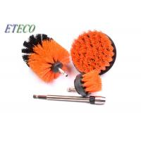 Quality Carpet Cleaning Bristle Brush For Drill White Corrugated Inner Box Packed for sale