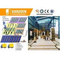 Quality Fireproof Building Material Making Machinery , Composite Wall Panel Making Machine for sale