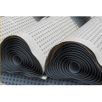 Quality Plastic Compound Dimpled Drainage Sheet Waterproof HDPE Drain Board for sale