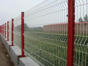 Quality Galvanized 5x10cm Welded Garden Fence Iron Wire Pvc Coated for sale