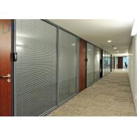 Quality Comercial Division Aluminium Wall Partition For Office With Laminated Glass for sale