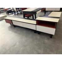 China MDF Modern Living Room Coffee Table , Functional Coffee Table With Storage on sale