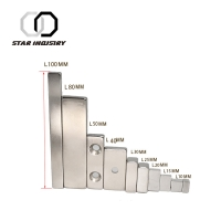 Buy cheap N38 Large Neodymium Magnets Rare Earth , Biggest magnet in the world , big neodymium magnet from wholesalers