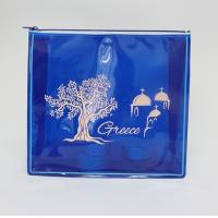 Quality fashionable printing transparent EVA cosmetic bag for sale