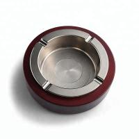 Quality Eco Friendly Covered Tabletop Ashtrays , Office Retro Ashtrays 3D Surface Design for sale
