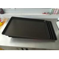 Quality Black Non Stick Baking Tray Stainless Steel Dakin PTFE Thickness 0.7mm for sale