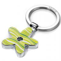 Quality Metal keyring,metal fancy keychain with printed any logo for sale