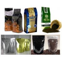 Quality Stand Up Coffee Bags With Zipper And Valve for sale