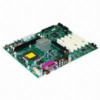 China High-performance ATX Motherboard with Intel Core 2 Quad/Core 2 Duo Processor on sale