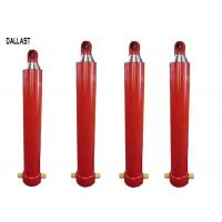 China Telescoping Hydraulic Ram Single Acting 3 / 4 / 5 Stages for Dump Truck on sale