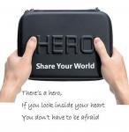 GoPro Bag Waterproof Protective Travel Case For Go Pro Hero 2 3 3+ 4 5 Xiaomi Yi
