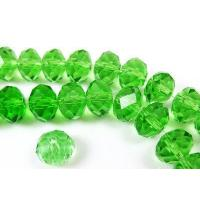 Quality Chinese Loose Rondelle Crystal Glass Beads for sale
