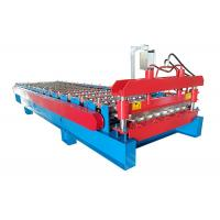 Quality PPGI Sheet With Ribs Metal Roof Making Machine Special For Custruction Company for sale