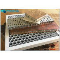 Buy cheap 28mm Thickness Eco - Friendly Aluminum Honeycomb Core Panels Curtain Wall Board from wholesalers