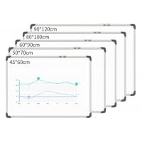 China Silver Hanging Magnetic White Board , Small Magnetic Whiteboards Students on sale