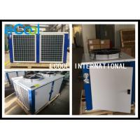 China Horizontal Cold Room Condensing Unit / AC Condenser Air Conditioning System on sale