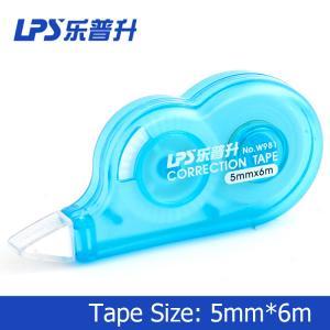 Aci - Free Blue Universal Correction Tape W981 2 Years Shelf Time 5mm X 6m