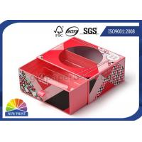 Quality Transparent PVC Window Paper Gift Box With Blister Tray Glossy Lamination for sale
