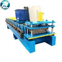 Buy cheap Commecial Ag Panel Roof Sheet Roll Forming Machine With Manual Pre Cutting Device from wholesalers
