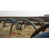 Quality 180 Degree Seamless Carbon Steel Tube Bends With Flange Connection for sale