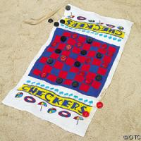 China 100% Cotton Game Beach Towel on sale
