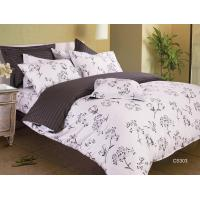 Quality Simple Durable Floral Bedding Sets With Advance Reactive Printing for sale