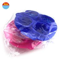 China Summer hot sale Four squares Brain silicone ice cube tray for Making ice cream on sale