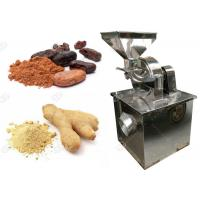Quality Small Scale Cocoa Powder Grinding Machine Electric Ginger Powder Making  Machine for sale