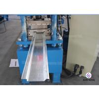 Quality Galvanized Type C / Z Purlin Roll Forming Machine With Hydraulic Cutting System for sale