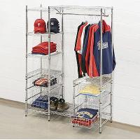 China Sturdy Durable Clothing Display Racks , Industrial Clothing Rack on sale