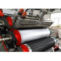 Quality Soft Plastic Sheet Extrusion Machine UPVC Plastic Processing Length 15mm-20mm for sale