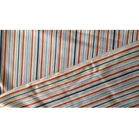 China Flame Retardant 180gsm Vertical Striped Fabric / Jersey Cotton Twill Fabric on sale