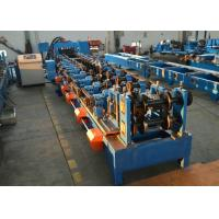 Quality Automatic CZ Purlin Steel Purlin Roll Forming Machine With CW Flange Punching for sale