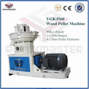 China 4-12mm DIN standard vertical ring die wood pellet machine on sale