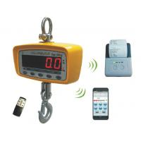 Buy cheap Bluetooth Digital Crane Scales with 15t capacity from Wholesalers