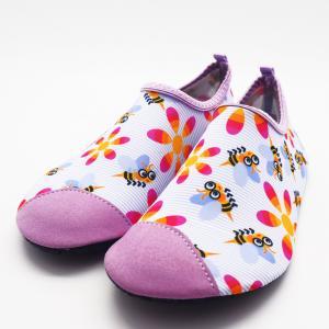 Quality Soft Lady Flexible Non Slip Swimming Shoes Aqua Swim Socks Retains Shape for sale