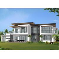 Quality Fast Construction Prefab Villa Prefabricated Houses Real Estate Prefab House for sale