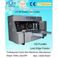 Quality Double Roller Carton Making Machine With High Precision Of Die Cutting And Molding for sale
