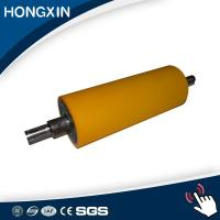 Quality 320C temperature resistance heat transfer rubber silicone roller for sale