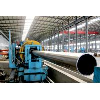 Quality Round Mild steel black pipe , Q235 / A53 gr. B erw welding pipe for sale