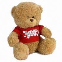 Quality Teddy Bear Plush Toy, OEM Orders are Welcome, Measures 28 x 14cm for sale