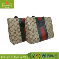 Quality Various design eco friendly packaging non woven reusable grocery shopping bag with handle for sale