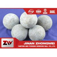 Quality High Carbon Rail Steel Material 125mm Forged Grinding Media Steel Balls For Ball Mill for sale