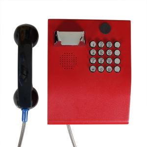 China Rugged Keypad IP65 PCB Vandal Proof SIP Telephone on sale