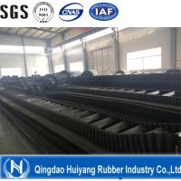 Buy cheap Corrugated and Ribbed Rubber Conveyor Belt with Cleat t high tensile strength long-life use from Wholesalers